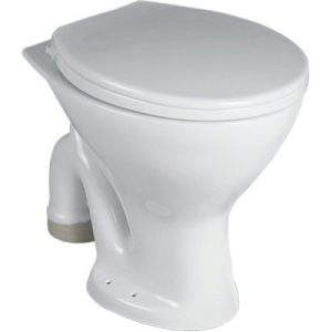 Closed Front White Saga Western Water Closet, for Bathroom