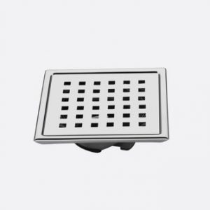 Square Stainless Steel Bathroom Jali