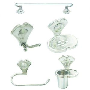 Stainless Steel Silver SS Bathroom Accessories
