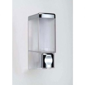 Wall Mounted Glass Liquid Soap Dispenser, for Bathroom