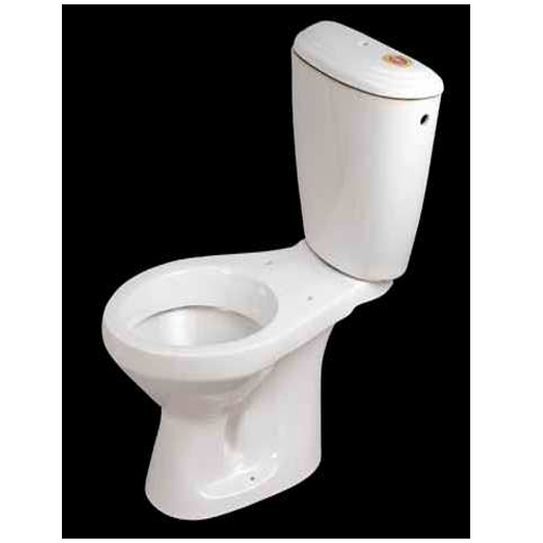 White Italica Close Coupled Toilet Size
